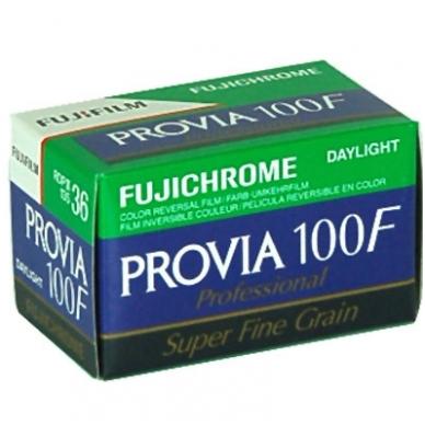 Fujichrome Provia 100 F 135/36