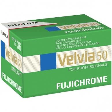 Fujichrome Velvia 50 135/36