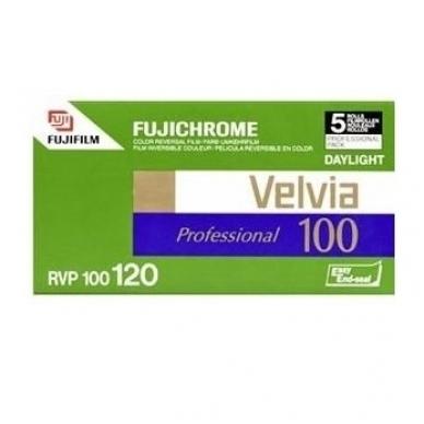 Fujichrome Velvia 100 120
