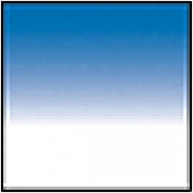 Cokin for Samyang 160 series 123S GRAD BLUE