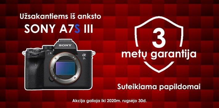 Sony A7S III +3