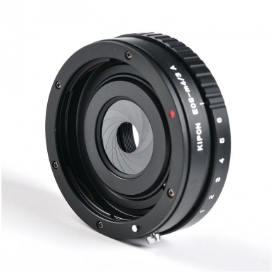 Adapteris Kipon Canon EF to MFT Aperture
