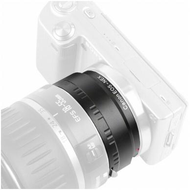 Adapteris Kipon Canon to Sony E Mount 2