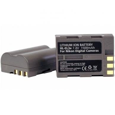 Baterija HÄHNEL Nikon HL-EL3E (EN-EL3E) 2