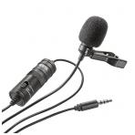 BOYA Lavalier mikrofonas išmaniems telefonams ir DSLR fotoaparatams