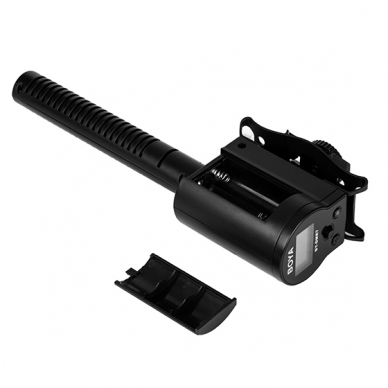 BOYA BY-DMR7 Shotgun Microphone with Integrated Flash Recorder 3