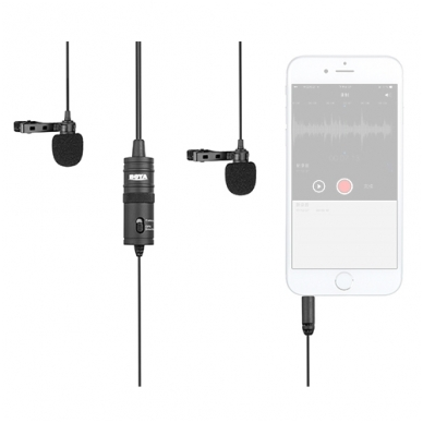 Boya BY-M1DM prisegami mikrofonai 2