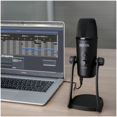 BOYA BY-PM700 USB pastatomas mikrofonas 6