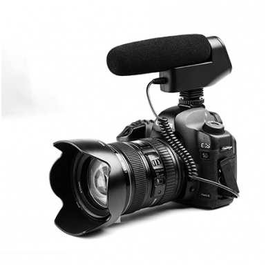 BOYA BY-VM600 kryptinis mikrofonas 4