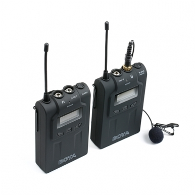 BOYA BY-WM6 UHF Wireless Microphone System 2
