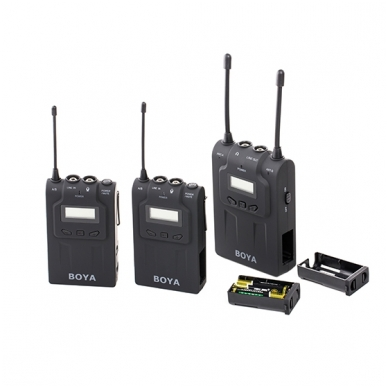 BOYA BY-WM8 UHF Dual-Channel Wireless Microphone System 3