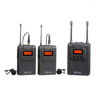 BOYA BY-WM8 UHF Dual-Channel Wireless Microphone System 4
