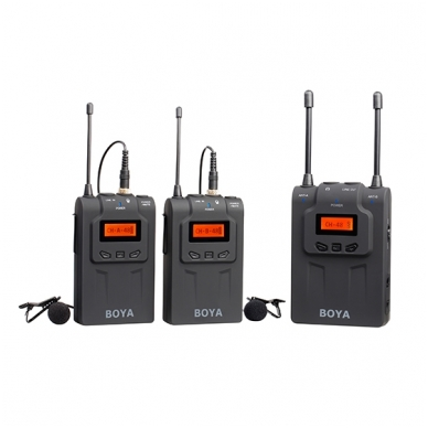 BOYA BY-WM8 UHF Dual-Channel Wireless Microphone System 4
