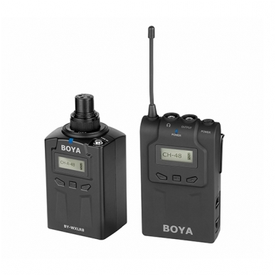 BOYA BY-WXLR8 Wireless XLR Plug-on Transmitter 4