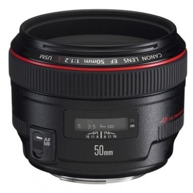 Canon EF 50mm f/1.2L USM