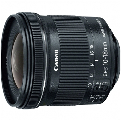 Canon EF-S 10-18mm f4.5-5.6 IS STM 2