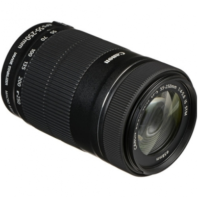 Canon EF-S 55-250mm f4.0-5.6 IS STM 4