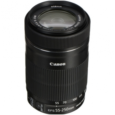 Canon EF-S 55-250mm f4.0-5.6 IS STM 2