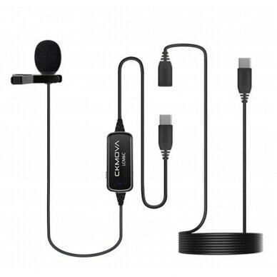 Ckmova LCM6C prisegamas mikrofonas