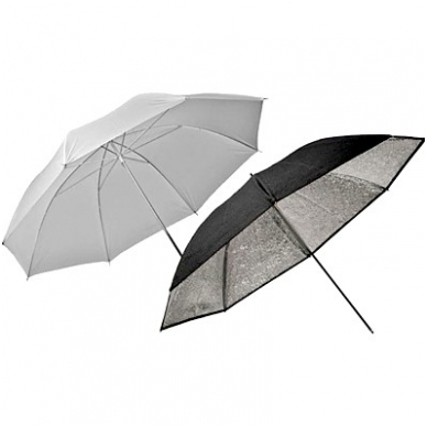 Elinchrom Umbrella Set / Silver-Translucent 83cm (26062)