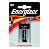 Energizer 9V/6LR61, Alkaline Power