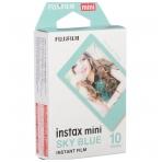 FujiFilm Instax mini Sky Blue 10 lapelių