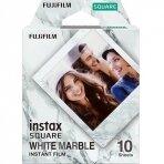 Fujifilm Instax Square White Marble (10 lapelių)