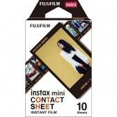 FujiFilm Instax Mini Contact Sheet 10 lapelių