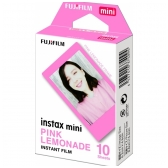 FujiFilm instax mini PINK LEMONADE 10 lapelių