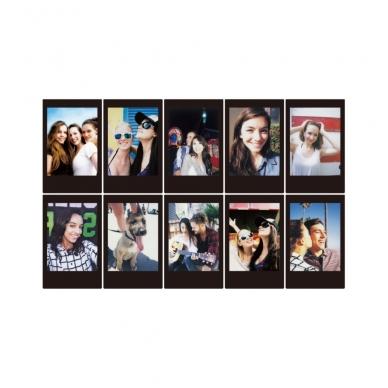 FujiFilm instax mini BLACK FRAME 10 lapelių 2