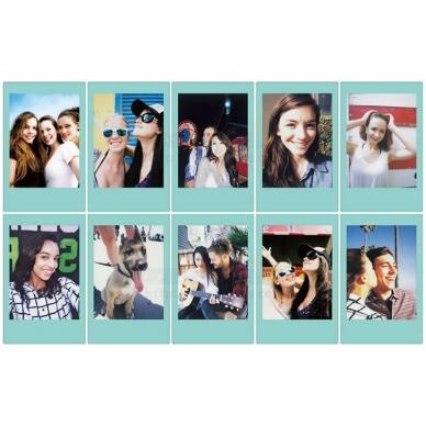 FujiFilm Instax mini Sky Blue 10 lapelių 3