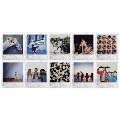 Fujifilm Instax Square White Marble (10 lapelių) 2
