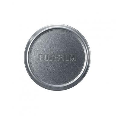 Fujifilm X100 objektyvo dangtelis - sidabrinis