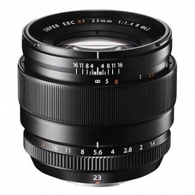Fujinon XF 23mm f1.4 R