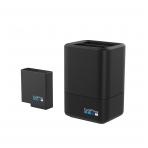 GoPro DUAL dvigubas įkroviklis + baterija