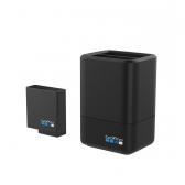 GoPro dvigubas įkroviklis + baterija Hero 5 kamerai