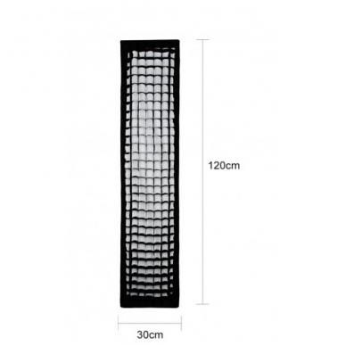 Godox SB-FW 30x120cm softbox + grid 2