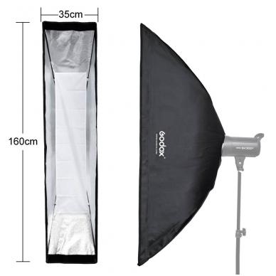 Godox 35x160cm softbox + grid 3