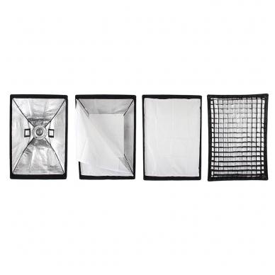 Godox 60x90cm softbox + grid 3