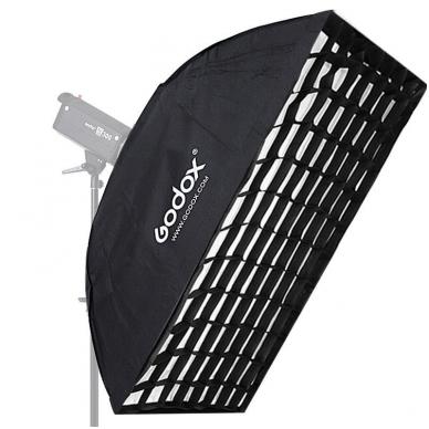 Godox 80x120cm softbox + grid