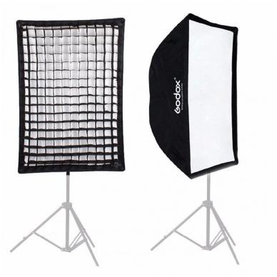 Godox 80x120cm softbox + grid 2