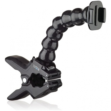 GoPro Jaws Flex Clamp gnybtai su lanksčiu stiebu/alkūne 4