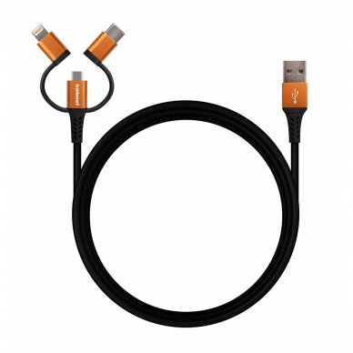 HÄHNEL Flexx 3in1 Sync/Charge Cable