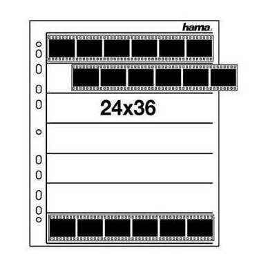 Hama Negative Sleeves 24x36 2