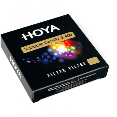 Hoya VARIABLE density ND filter 3