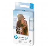 "HP Zink Paper Sprocket 2x3"" (20 lapelių)"