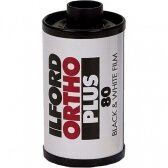 Ilford ORTHO PLUS 80 135/36