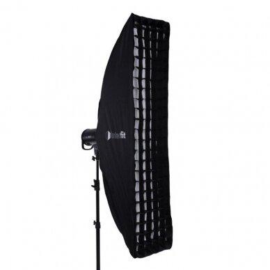 Interfit Strip Softbox 39x160cm + Grid 4