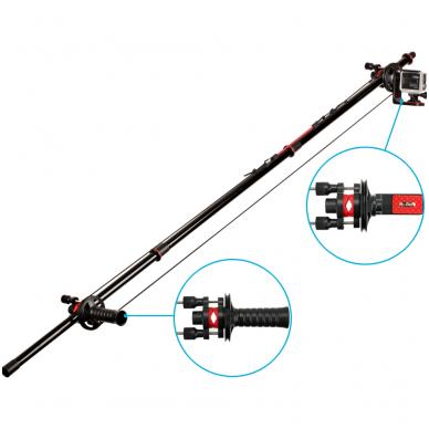 Joby Action Jib Kit & Pole Black/Red
