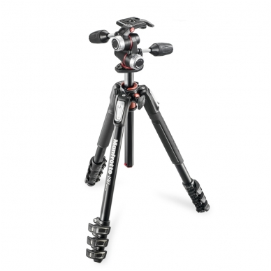 Manfrotto MT190XPRO4 + MHXPRO-3W